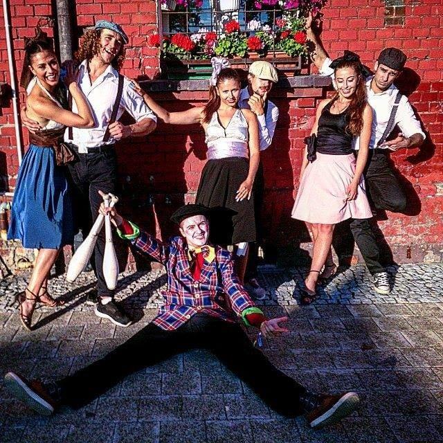 Dolne Miasta - zabawa w stylu retro