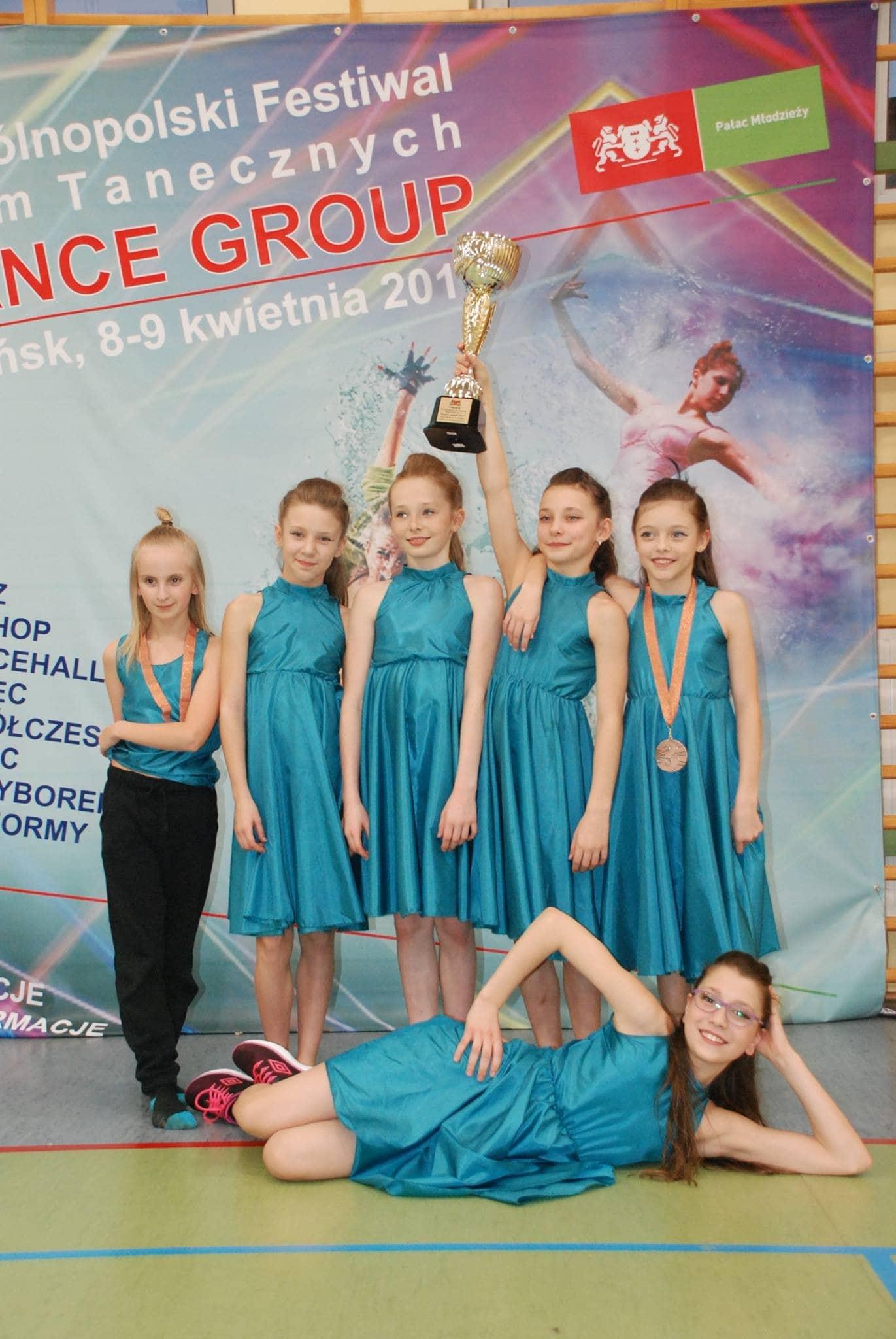 weekend zawodów tanecznych 08-09.04.2017