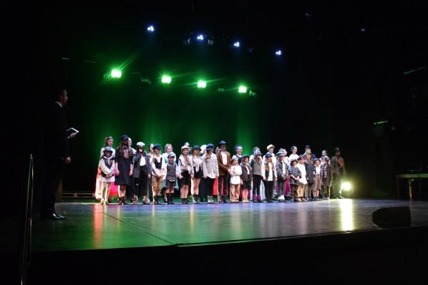 Oliver Twist Teatr Szekspirowski - owacje
