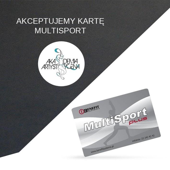 Akceptujemy kartę Multisport