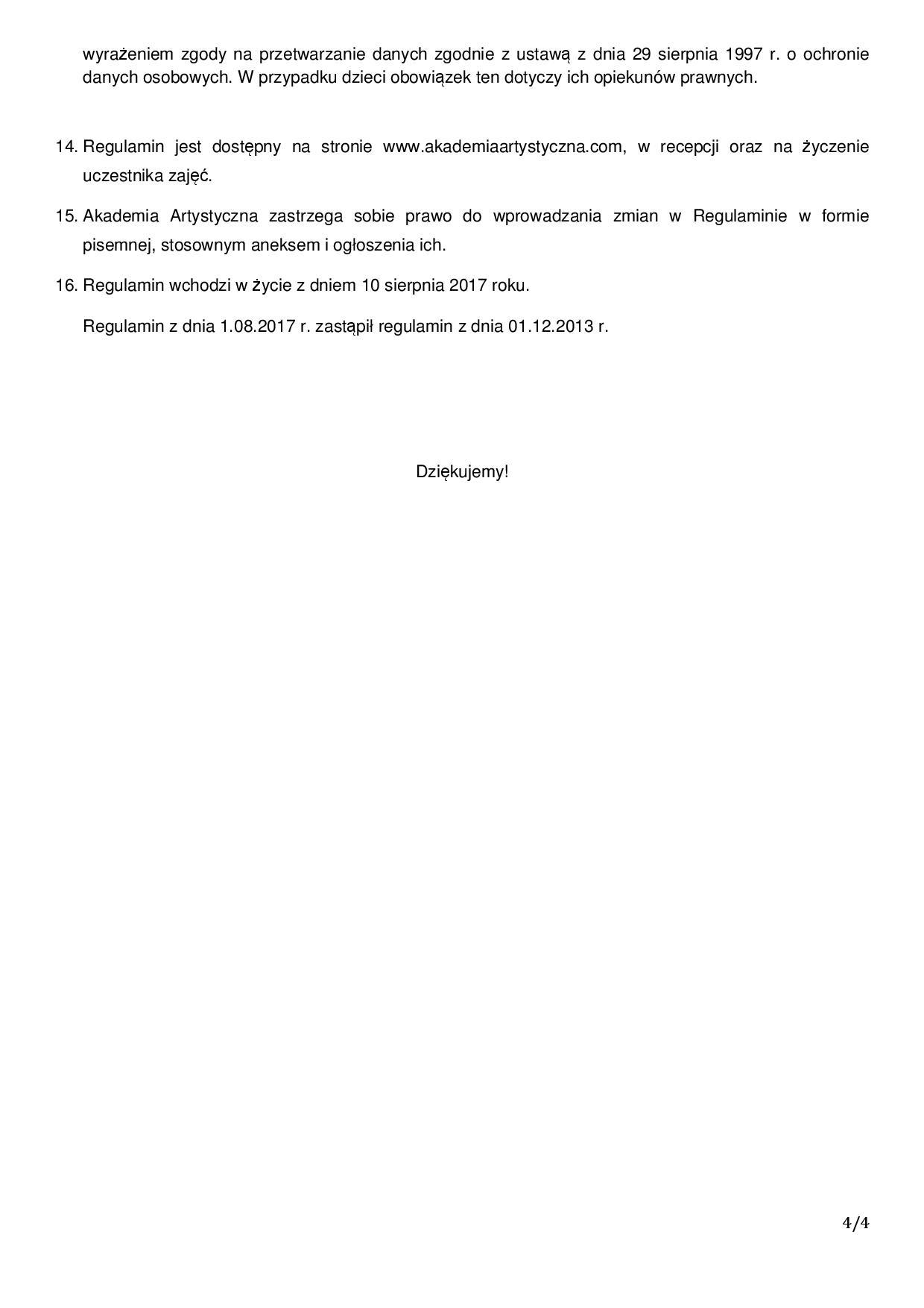 Regulamin Akademia Artystyczna4