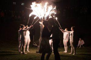 fire show Teatr tańca z ogniem Akademia Artystyczna
