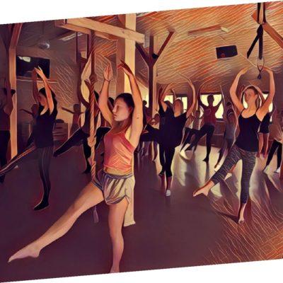 Zajęcia baletu, taniec klasyczny