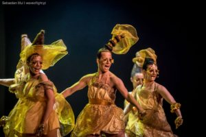 MUSICAL KOSMOS tancerka Monika Rudnicka