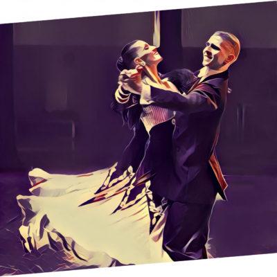 Taniec towarzyski, zajęcia w parach
