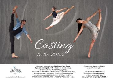 Casting do grup Taniec Jazzowy / Teatr Tańca