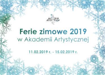 ferie zimowe w Akademii Artystycznej