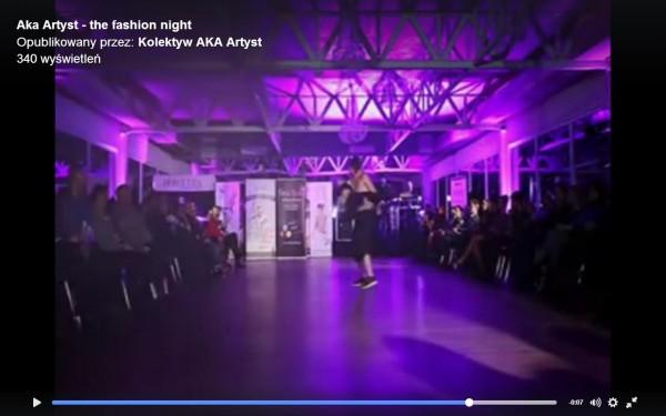 pokaz mody Kolektyw Aka Artyst