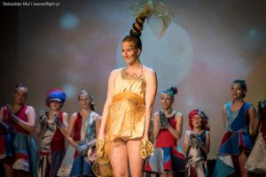 MUSICAL KOSMOS oklaski Rudnicka Monika Ręcznie malowane Horyzonty i taniec