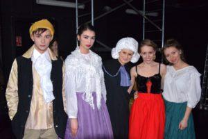 Oliver Twist Spektakl Musicalowy backstage