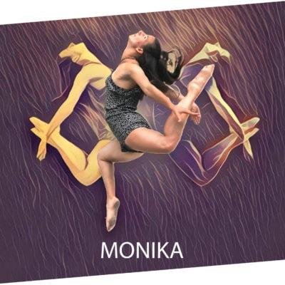 Monika Rudnicka tancerka